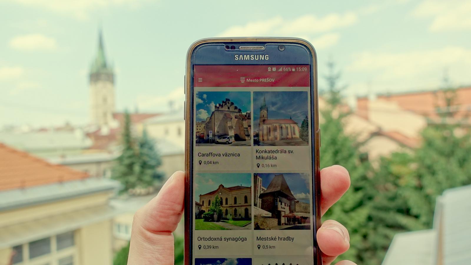 146c5278a Spoznajte Prešov vďaka novej mobilnej aplikácii