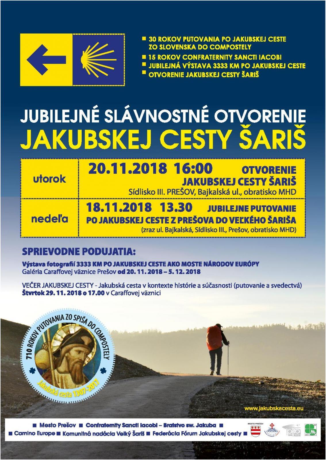 be981d10e Jakubská cesta bude mať svoju zastávku aj v Prešove