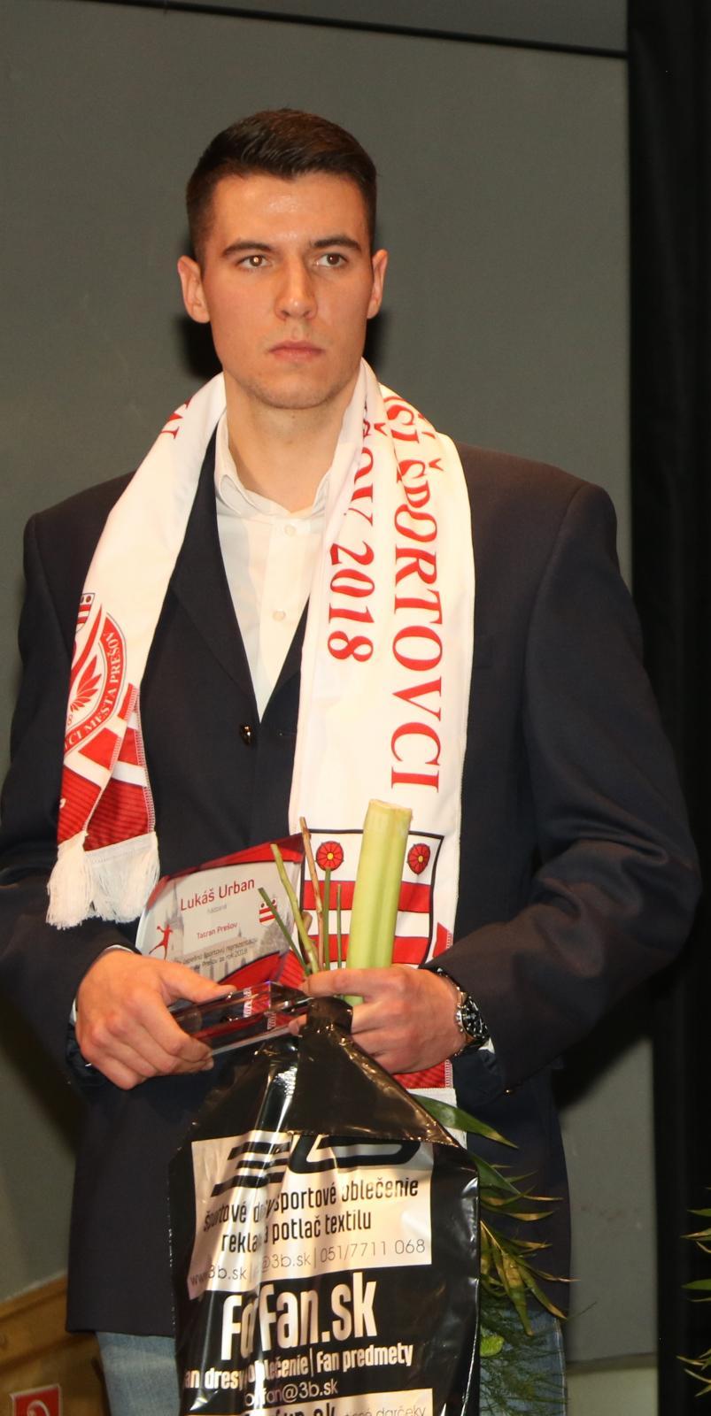 0180176bb Hádzanár Igor Čupryna najúspešnejším športovcom mesta Prešov