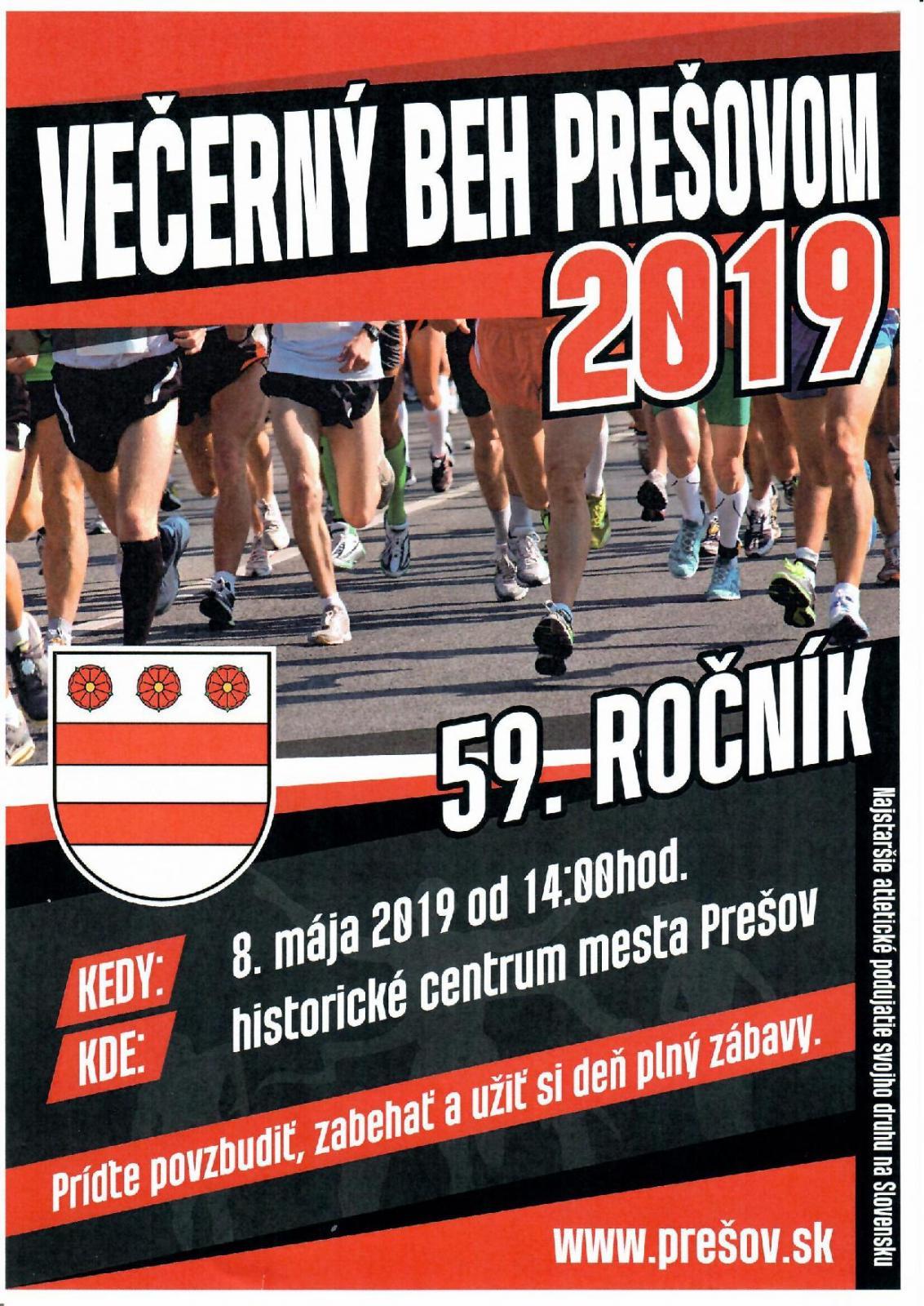 72c385fd47642 Večerný beh Prešovom v stredu 8. mája. V akcii budú bežci, korčuliari aj