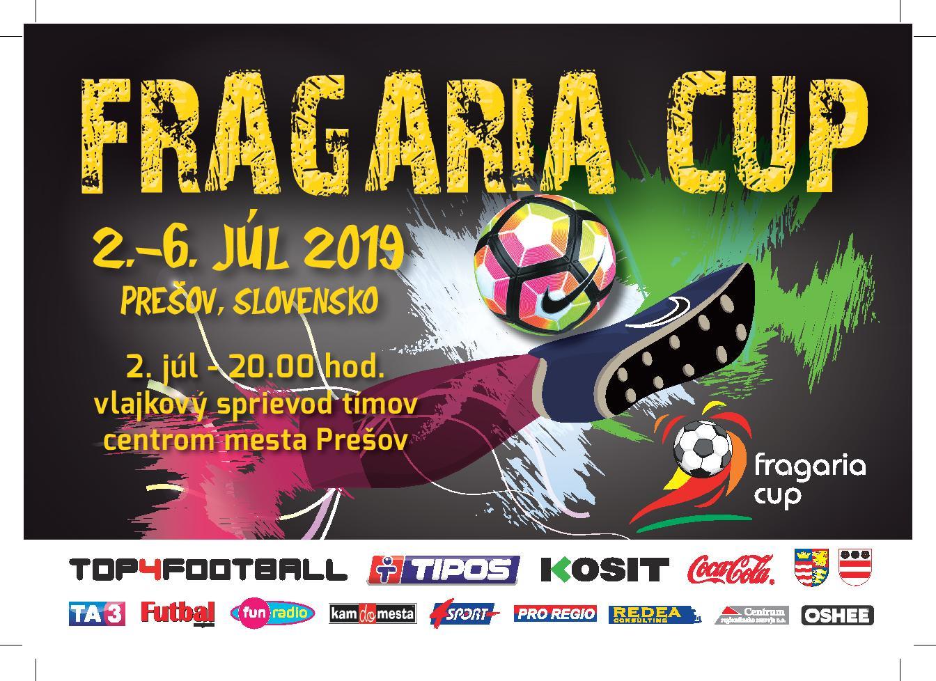 dfdc9417f Veľkolepý FRAGARIA CUP 2019 odštartuje prázdniny v Prešove